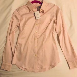 Banana Republic Light Pink Button Down Shirt